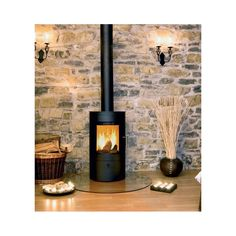 Poêle à bois ou poêles à pellets Contemporary Gas Fires, Wood Burning Fireplace Inserts, Stove Fireplace, Log Burner, Home Staging, Family Room, Sweet Home, House Design, Home Decor