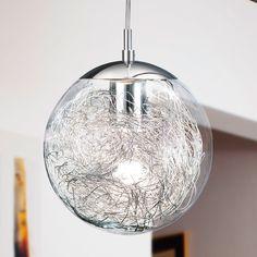 Glass Globe Kitchen Lights