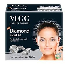 VLCC Diamond Facial Kit, + (as of - Particulars) Diamond Scrub and Diamond Therapeutic massage GelDiamond Detox Lotion;Diamond Therapeutic massage GelDiamond Wash-of. Vlcc Facial Kit, Gold Facial Kit, Types Of Facials, Skin Polish, Clear Pores, Cleanser And Toner, Facial Treatment, Hemp Oil, Science And Nature