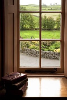 Ancestral Barn, Church Farm, Dovedale. Beamed ceilings, panelled walls and a splendid open country view over our organic farm http://www.organicholidays.co.uk/at/1572.htm