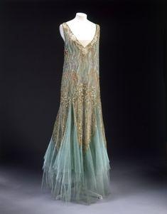 Dress by Jean-Charles Worth, ******* Circa 1928-1929
