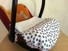 Babyschalenbezüge - Maxi Cosi Decke Kindersitzdecke - ein Designerstück von Vogtlandbiene bei DaWanda