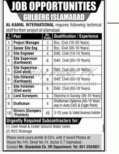 Job Opportunities In Al - Kamal International Islamabad  http://www.dailypaperpk.com/jobs/177542/job-opportunities-al-kamal-international-islamabad