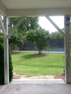 View Of Tennis Courts Whitley Park Zebulon NC WhitleyPark ZebulonNC