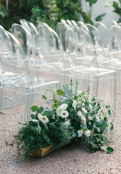 Greenery wedding cer