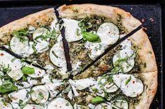 Scrappy Pesto, Zucchini & Burrata Pizza – CUOCO CONTENTO