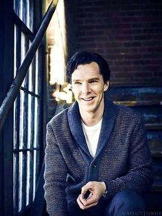 Benedict Cumberbatch in Sweater.