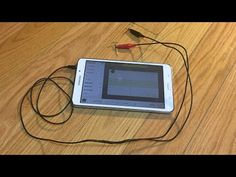 DIY oscilloscope probe for Android device - YouTube