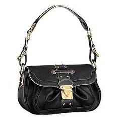 Louis Vuitton Suhali Leather Le Confident Black M91784  Price:$167.99