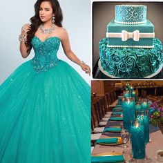 There are plenty of color themes waiting for you to discover! ❤️ For more ideas click link in bio #quinceaneradotcom