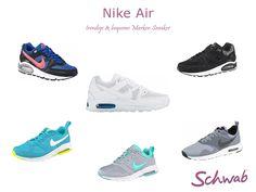 Die Nike Air Sneaker gehören zu den Topsellern im Schwab Shop