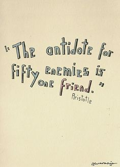 It's almost like Aristotle knew me.