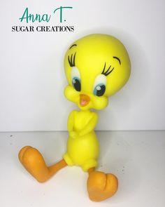 Done done! #tweetycake #tweetybird #annatsugarcreations #tweetytopper #fondanttoppers #sugarpastetopper Tweety Cake, Disney World Pictures, Fondant Toppers, Sugar Paste, Birthdays, Bird, Cartoons, Anna, Instagram