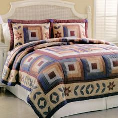 Perfect quilt for a country/cottage bedroom!