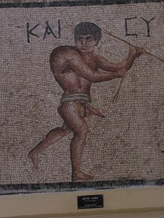 Happy Hunchback mosaic - Antakya
