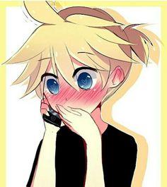 Rin : ...Je...je t'aime Len-kun... Len : ... :$