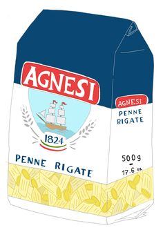 Artist Draws Whimsical Illustrations Of Food Packaging - DesignTAXI.com