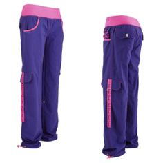 New Electro Zumba Cargos! Purple is the grown up pink right?!!