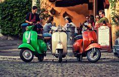 Trastevere neighborhood in Rome. Photo via David Juan