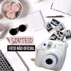 SORTEIO  Eu @vireiadulto @maridevogeski e @brunaramosfe estamos sorteando esta câmera fotográfica insta estilo Polaroid!! Para concorrer procure a foto oficial no perfil do @vireiadulto. O resultado sai dia 17/07! BOA SORTE  . . . #sorteio #sorteios #promoção #sorte #boasorte #Bauru #grandesmulheres #fotografia #photo #photooftheday #picoftheday #instax