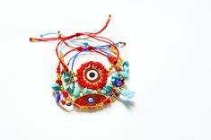 Ojo turco Crochet Earrings, Jewelry, Fashion, Handmade Bracelets, Fashion Accessories, Eye, Moda, Jewlery, Jewerly