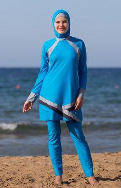 Womens Jewish Swimwear Burquni Tankini Bikini Modest Burkini Covered Swimwear SE
