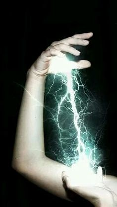 Lightning in the palm of your hand