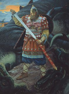 """Добрыня Никитич"" (Dobrynya Nikitich)  Stanislav Moskvitin, 2002"
