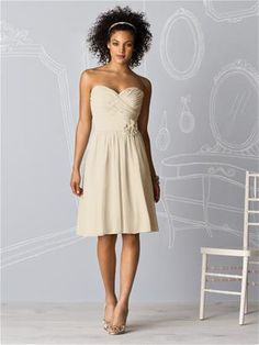 Champagne Bridesmaid Dress - so many different colours to choose from on the website