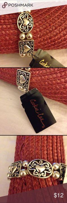 Jewelry Beautiful stretch Cookie Lee Bracelet. New with tags. Cookie Lee Jewelry Bracelets