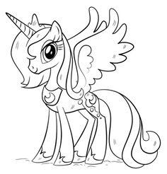 Princess Luna Coloring page