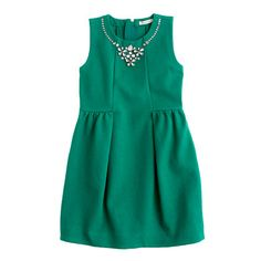 this might actually convince me to change my wedding colors, #flowergirldress Girls' necklace dress