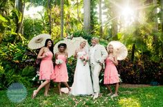 Wedding at Sunken Gardens