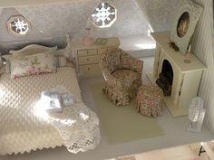 A mini guest room.
