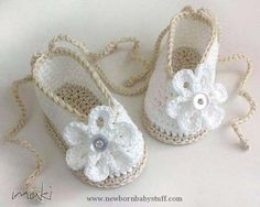 Crochet Baby Booties Baby crochet pattern  baby ballerina  Perfect for by MakiCro...