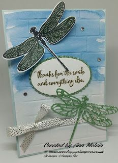 Ann's Happy Stampers: #8 Spring & Summer Sunday Beautiful & simple water...