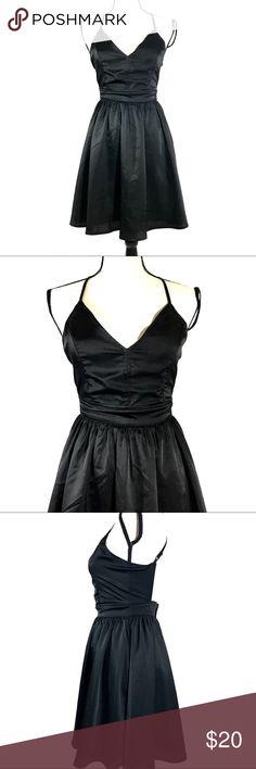 Double Zero Open Back Dress Spaghetti straps with V neckline & open back. Zip closure. NWOT. Double Zero Dresses