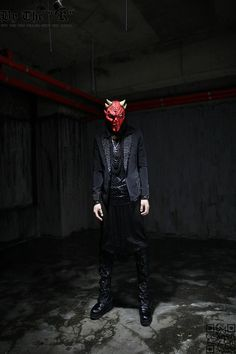 mesh shirt, avant-garde monster
