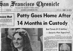 """Patty Goes Home After 14 Months in Custody:""  Bail totals $1.5 Million - Security Plan Approved.  ~ San Francisco Chronicle; November 20, 1976"