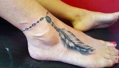 Resultado de imagem para tatuagem de tornozeleira