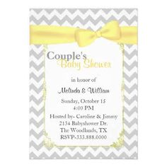 Image detail for -Elephant Chevron Baby Shower Invitation. Customized Shower Invitation ...