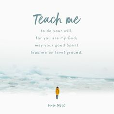 Verse of the Day - Psalm 143:10