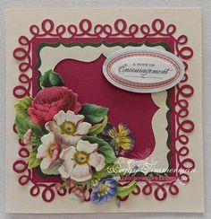 Daily Grace Creations: Anna Griffin Elegant Edges Card