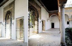 Palacio de las Dueñas, atrio