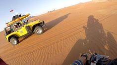 Yamaha Raptor 700 and Jeep Wrangler Desert Off Roading