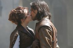 Constance and D'Artagnan. The Musketeers #Constagnan