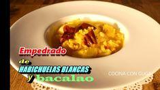 #EMPEDRADO DE #HABICHUELAS BLANCAS Y #BACALAO #recetasdecocina #semanasanta