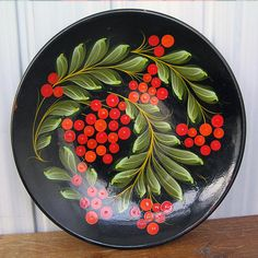 gorgeoues hand painted Russian platter... Feb 14 by CoolVintage, $21.50