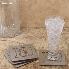 Duke Blue Devils 4-Pack Boasters Stainless Steel Coasters