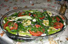 Rokalı Hamsi Fırın Buğulama (henüz pişmemiş) - Steamed anchovy in oven with rucola (uncooked yet)